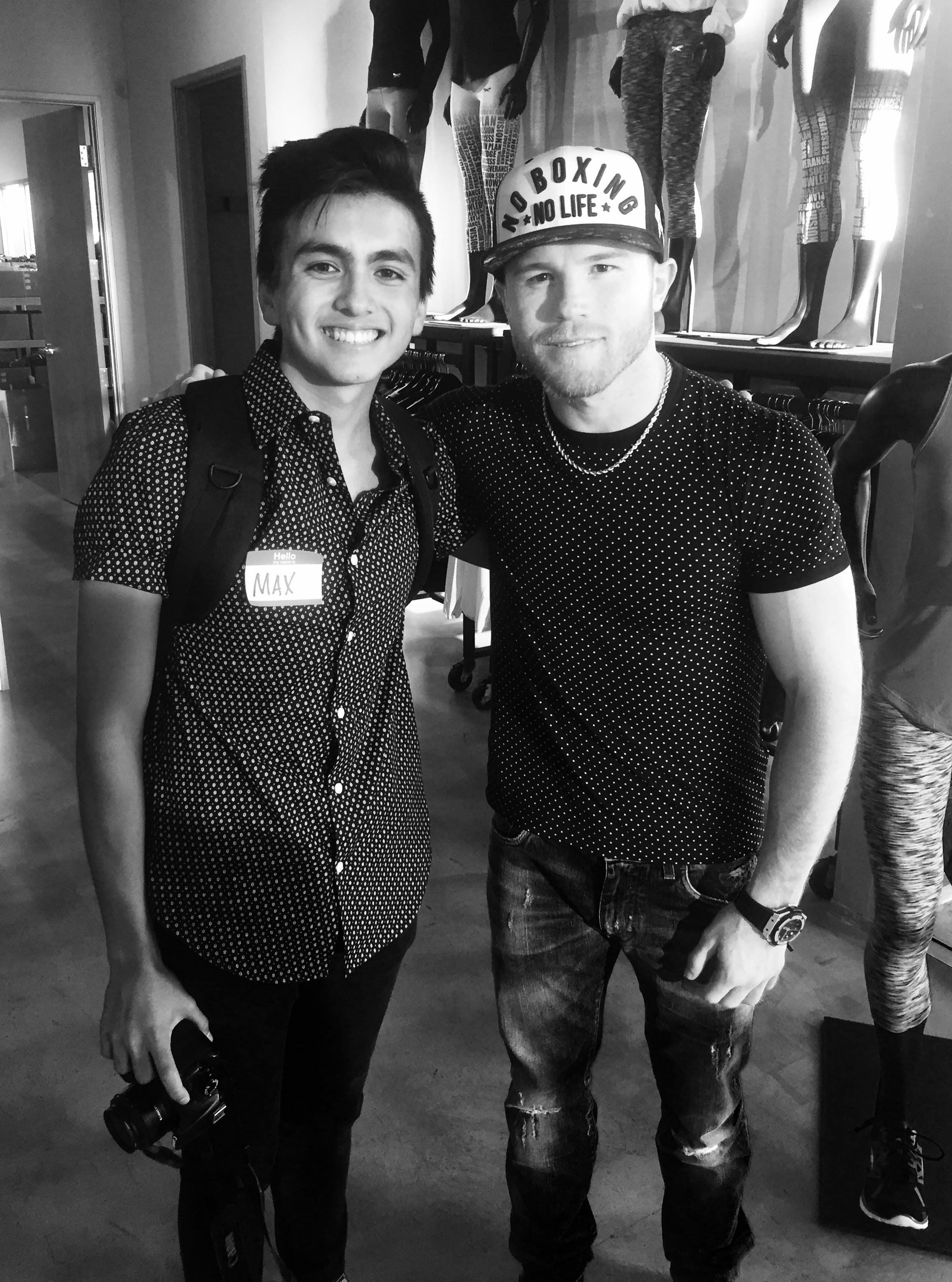 July-Nov 2016: Work with Canelo and Tucanes - freelance work for celebrities added credibility to my brand. an 17 year old without credibility can be tough to sell.