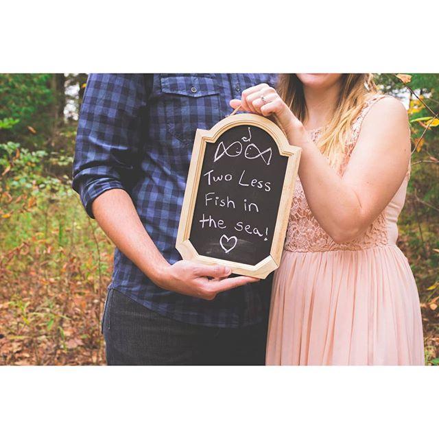 The best sign ever! 💕😍😝 🖱️www.renebenjamindesigns.com 📨renebenjamin@renebenjamindesigns.com . . . . .  #engagement #ido #weddingphotographer #weddinggown #engaged #theknot #weddinginspiration #engagementphotographer #couples #love #thatsdarling #loveauthentic #engaged #whitbyphotographer #chasinglight #fallphotography #weddingseason #smpweddings #ftwotw #elopement #torontolife #torontoigers #wethenorth #toronto #igerstoronto #torontolifestyle #gtaphotographer #durhamregion #whitby #durhamregionphotographer