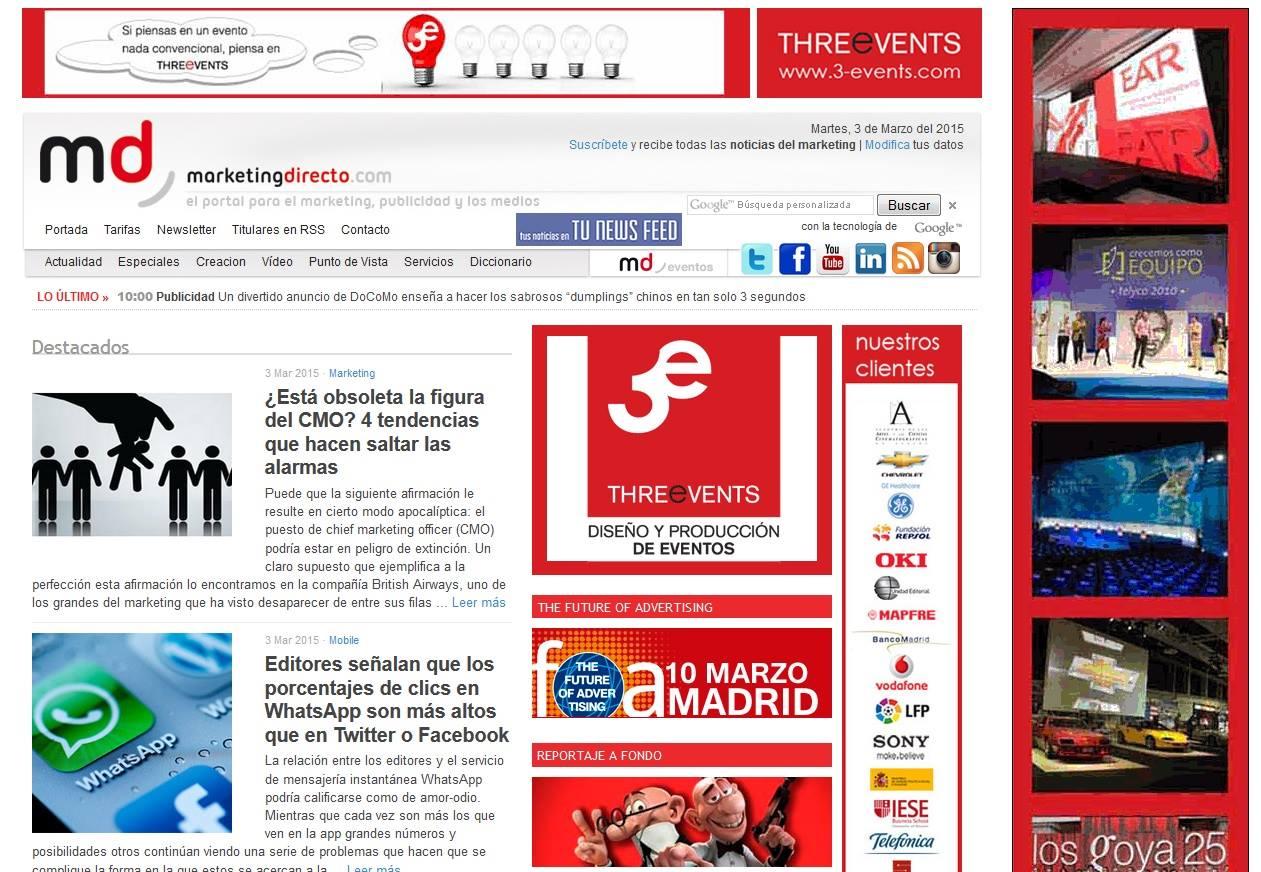 3-events Publicidad Marketing Directo