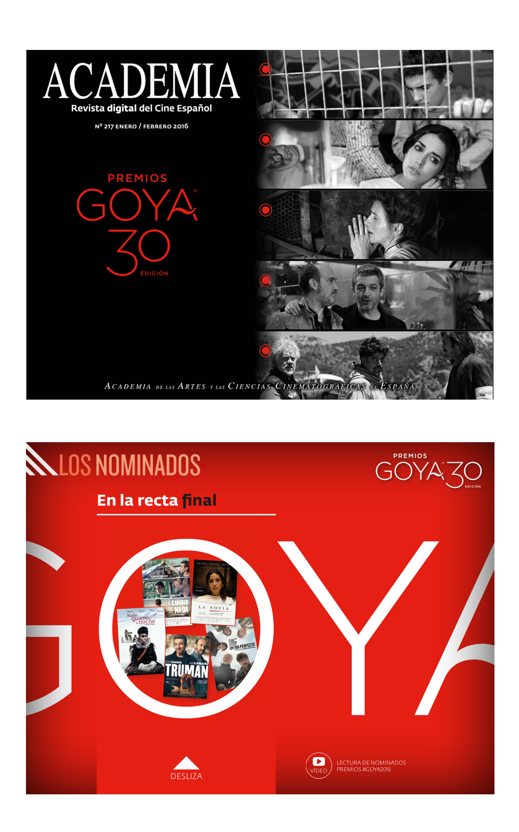 3-events Nominados Goya 2016