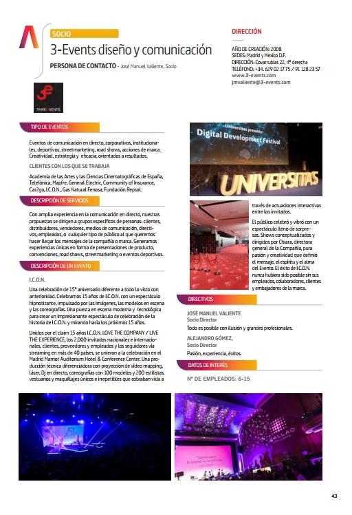3-events Anuario AEVEA 2017
