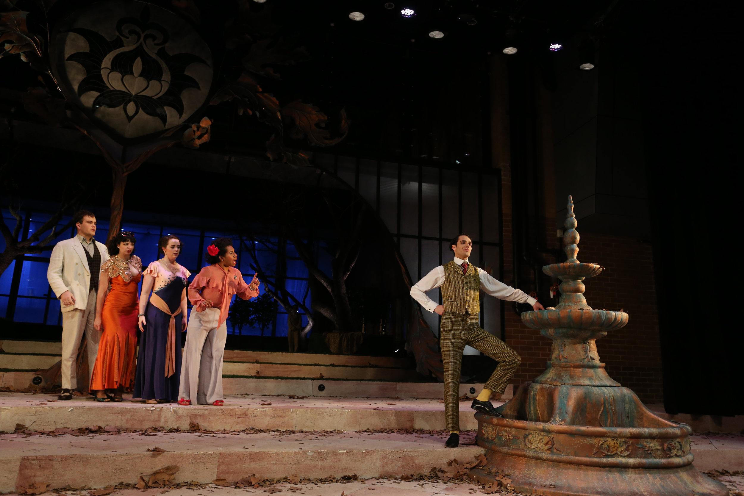 Ensemble and Malvolio (Alex Stylianou)