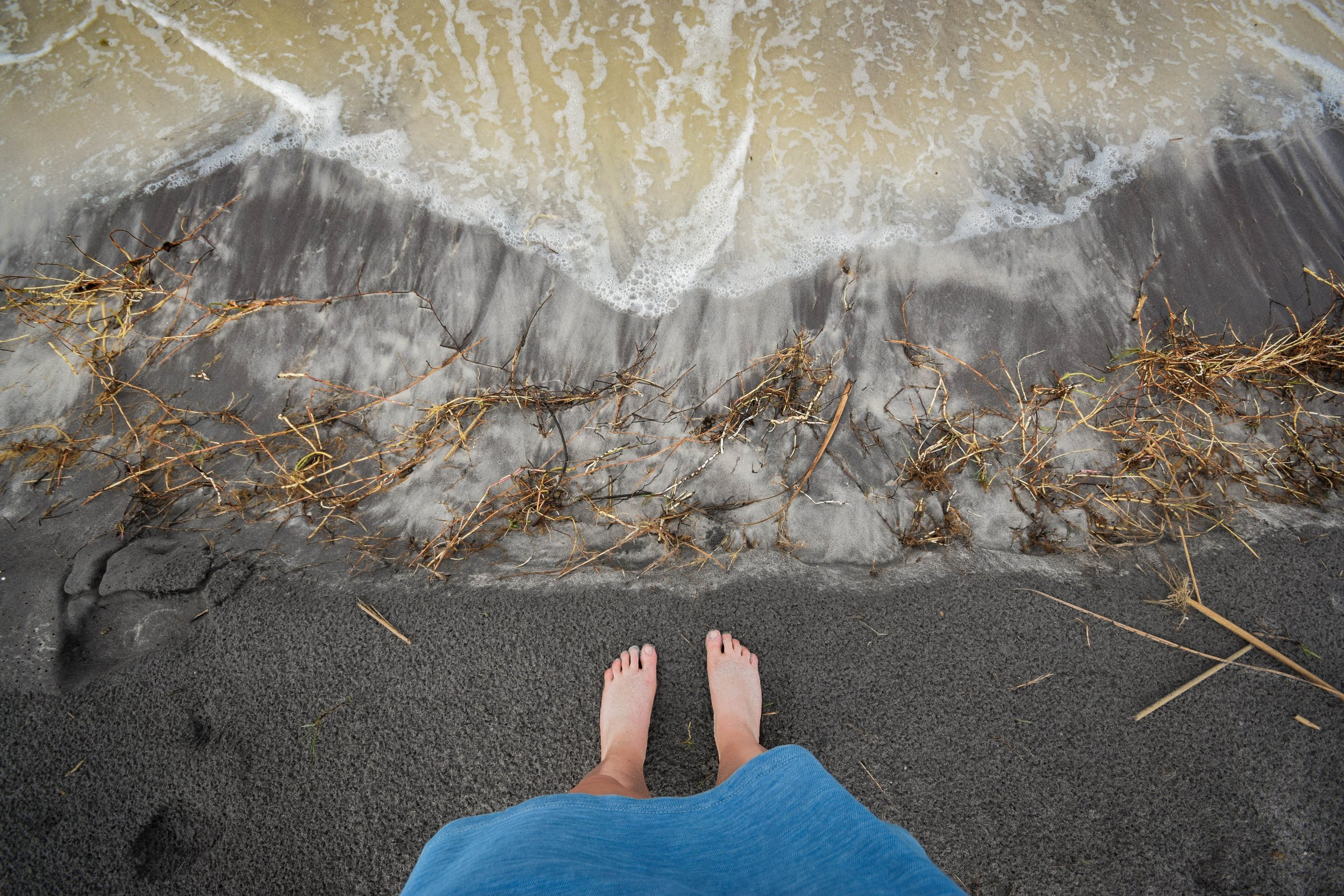 We stand at the edge, knowing that we need to step in to fully embody our purpose