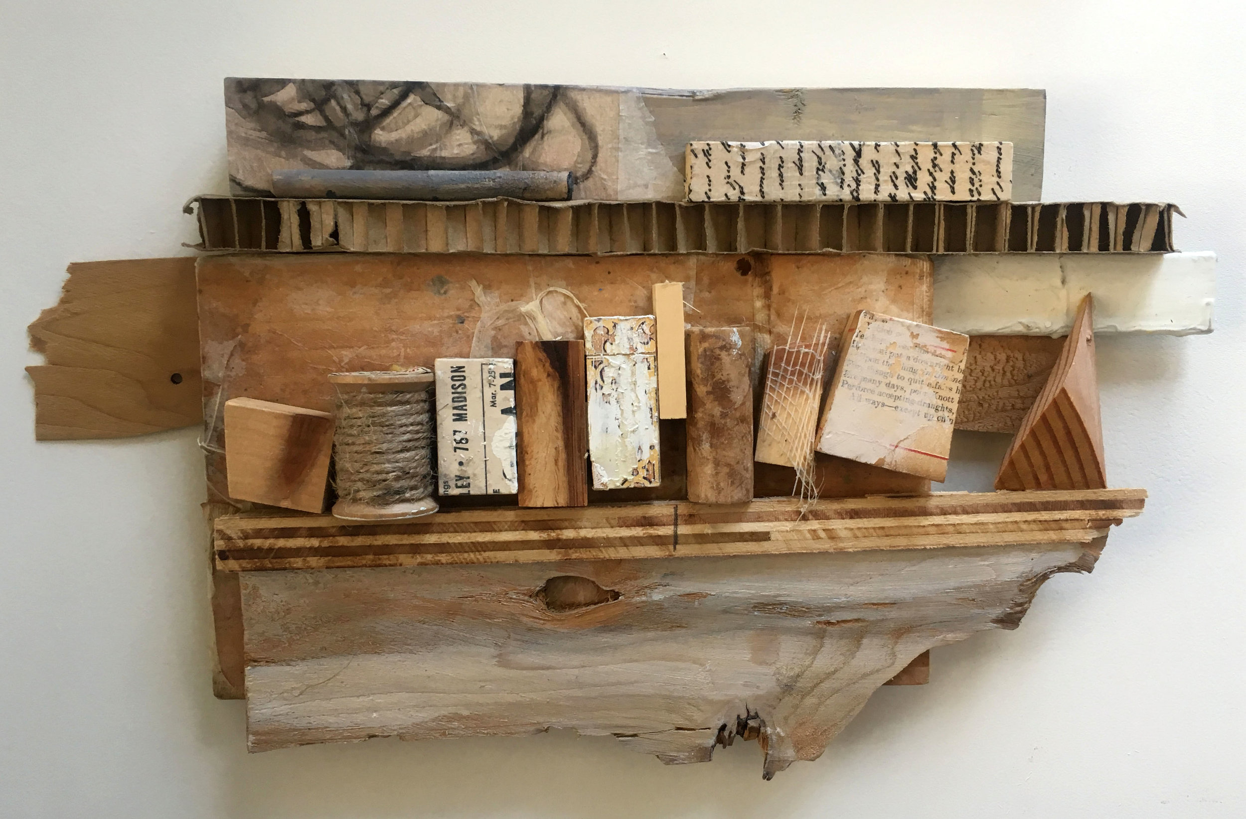 The Arrangement_9in x 16 in_Wood assemblage.JPG