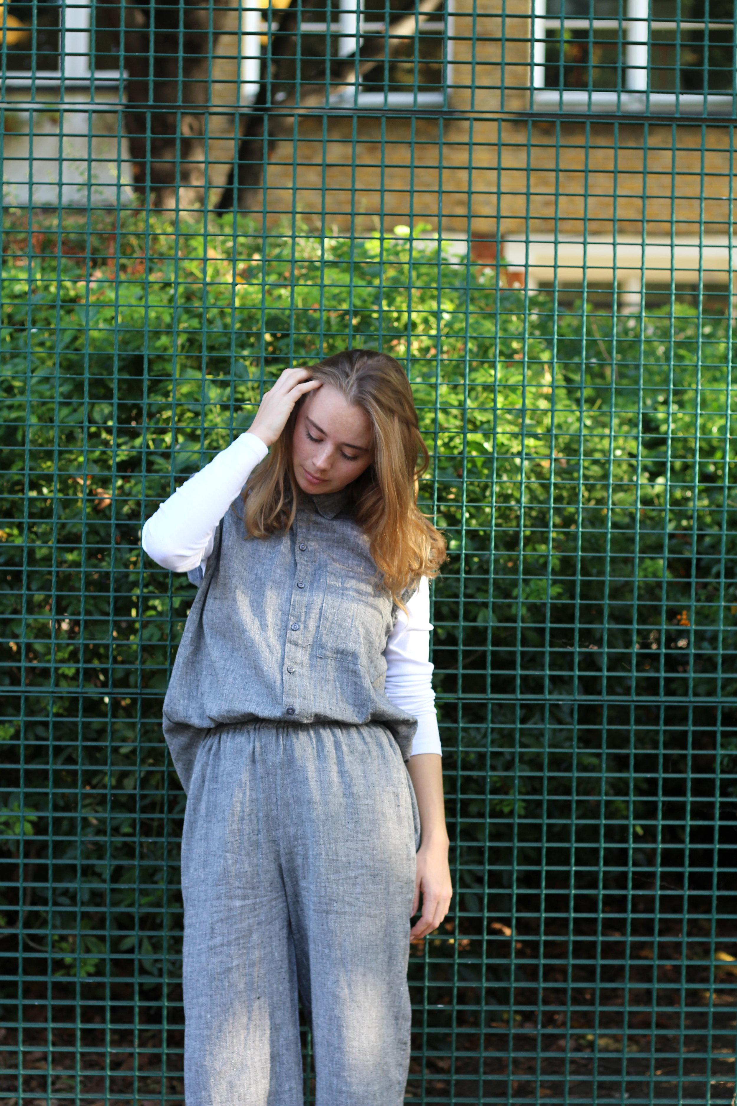 ED 1 THREAD NO. 8___VOLUMIOUS SLATE GRAY CROPPED CULOTTES