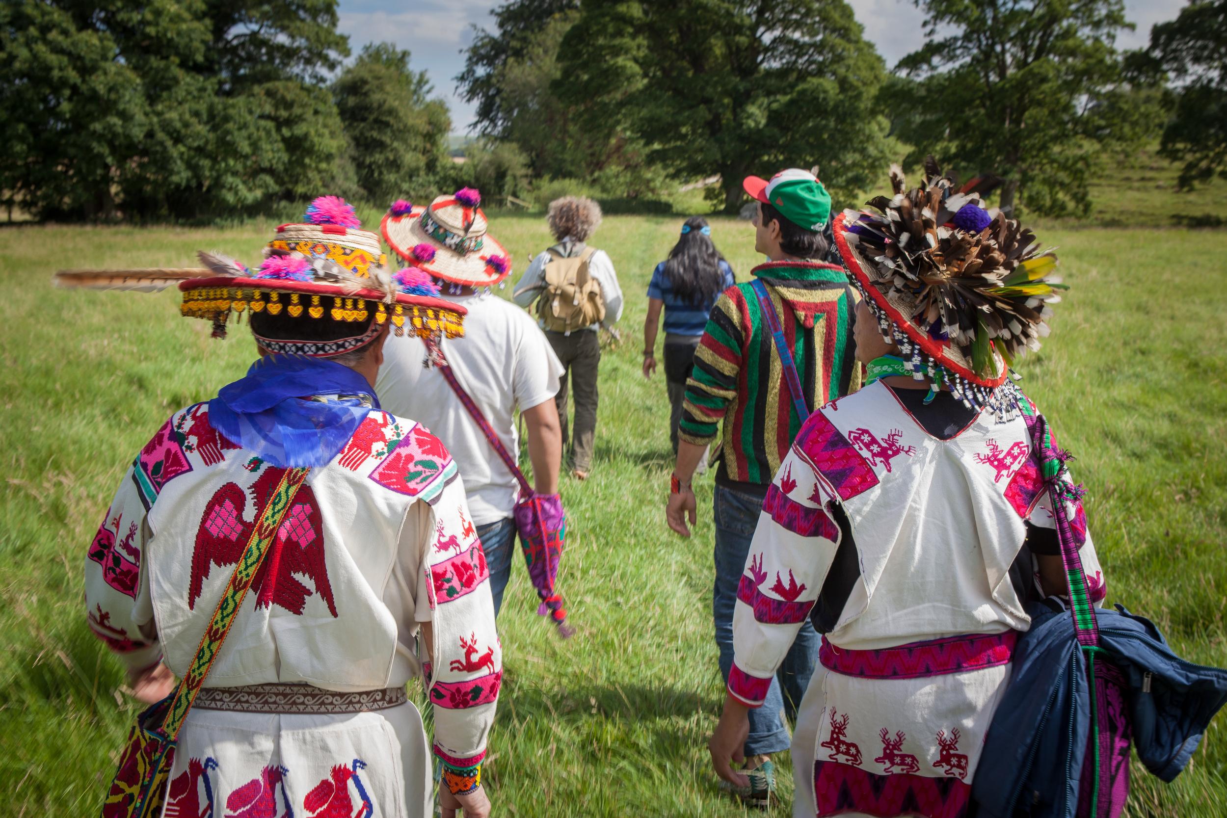 RAW gathering -Huichol Tribe, Central Mexico & Kichwa Tribe, Ecuador,South America .   Photography by Jeremy Whelehan