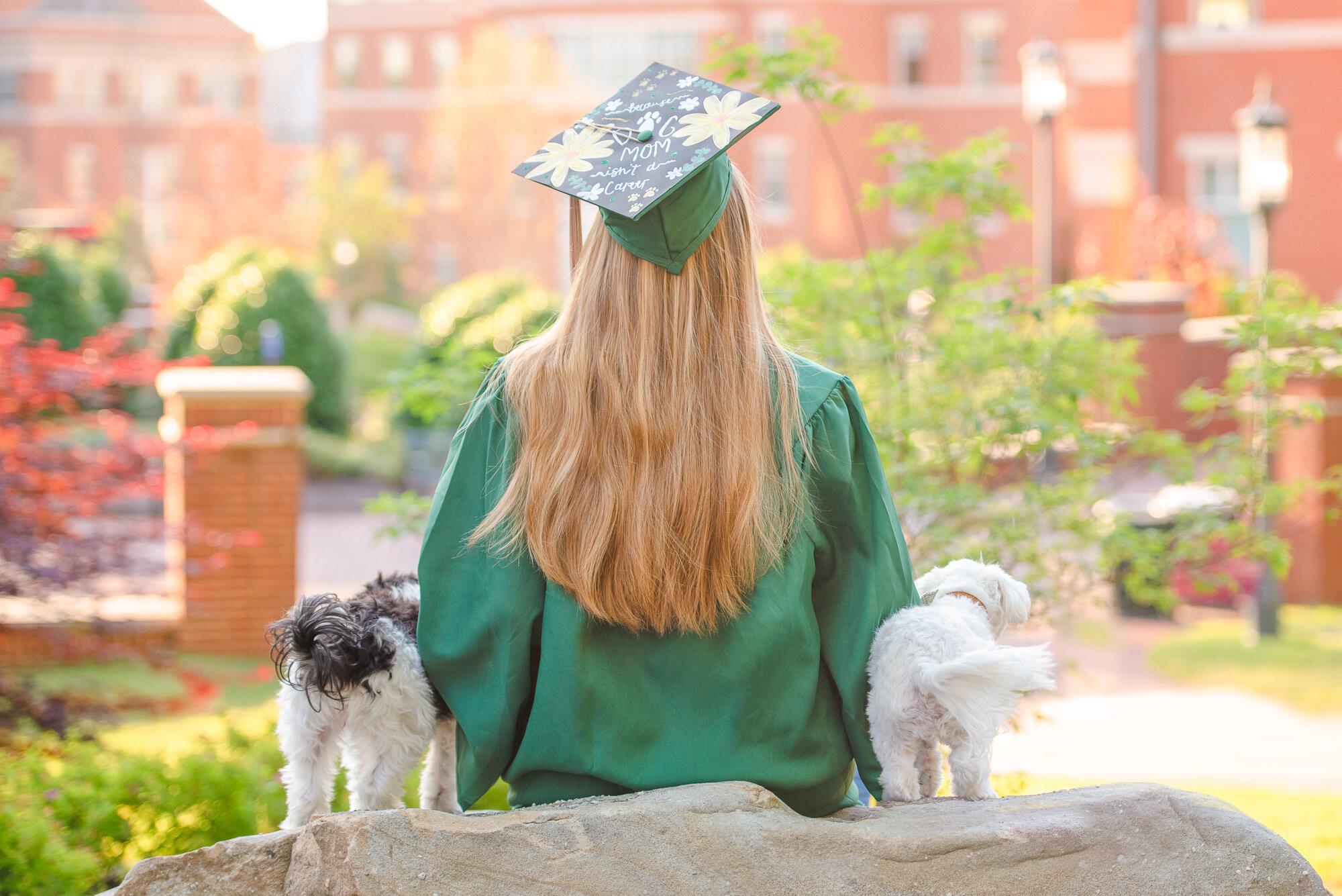 UNCC senior grad photos