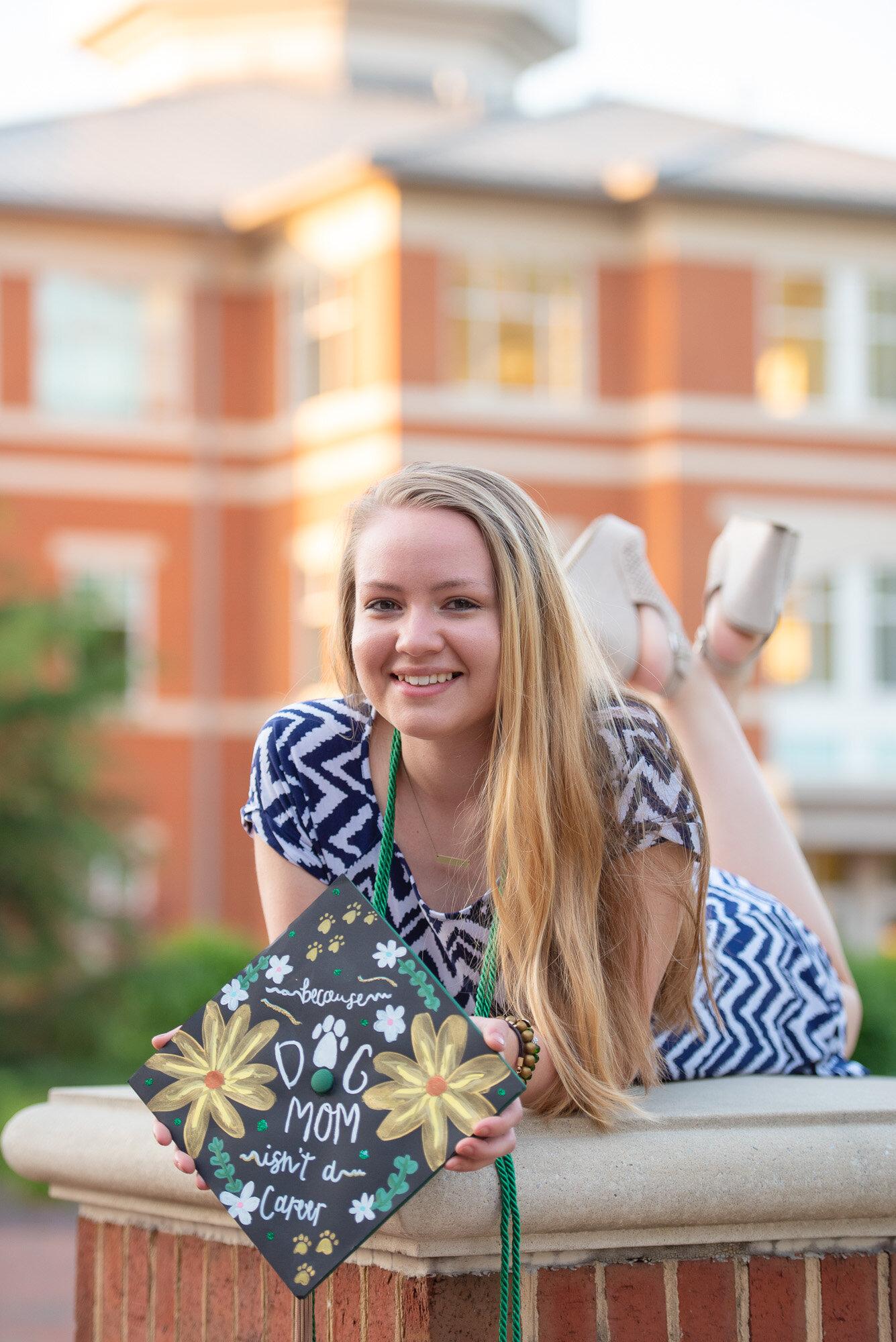 senior photos UNCC