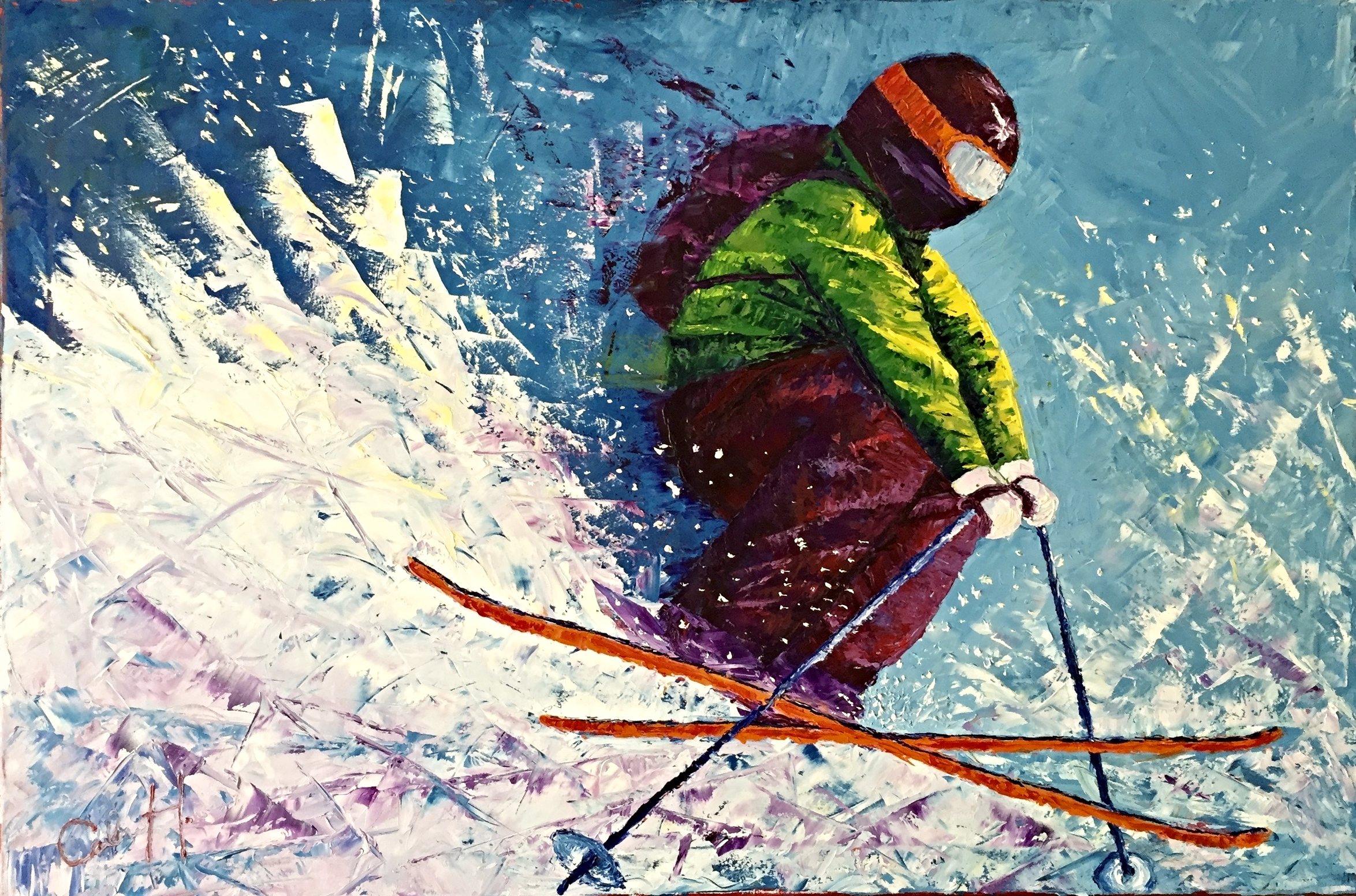 """""""Skier for Matt"""""""