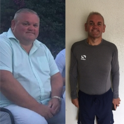 Jon, who lost 7.6 stone in 6 months