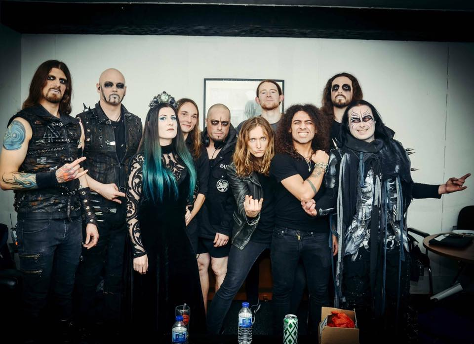 Cradle of Filth and Savage Messiah in Bristol 11. 11.