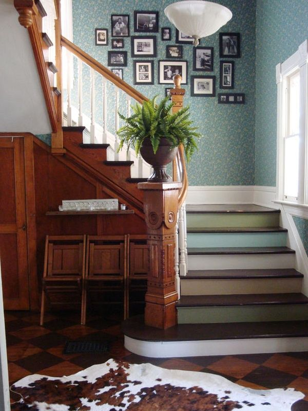 More neutral palettes still offer contrast but work well in historic applications   Via HGTV