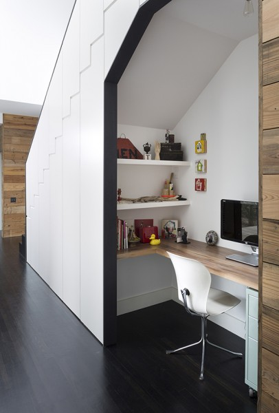 Palma Plaza home office by Austin Architect | Photo courtesy Austin Architect