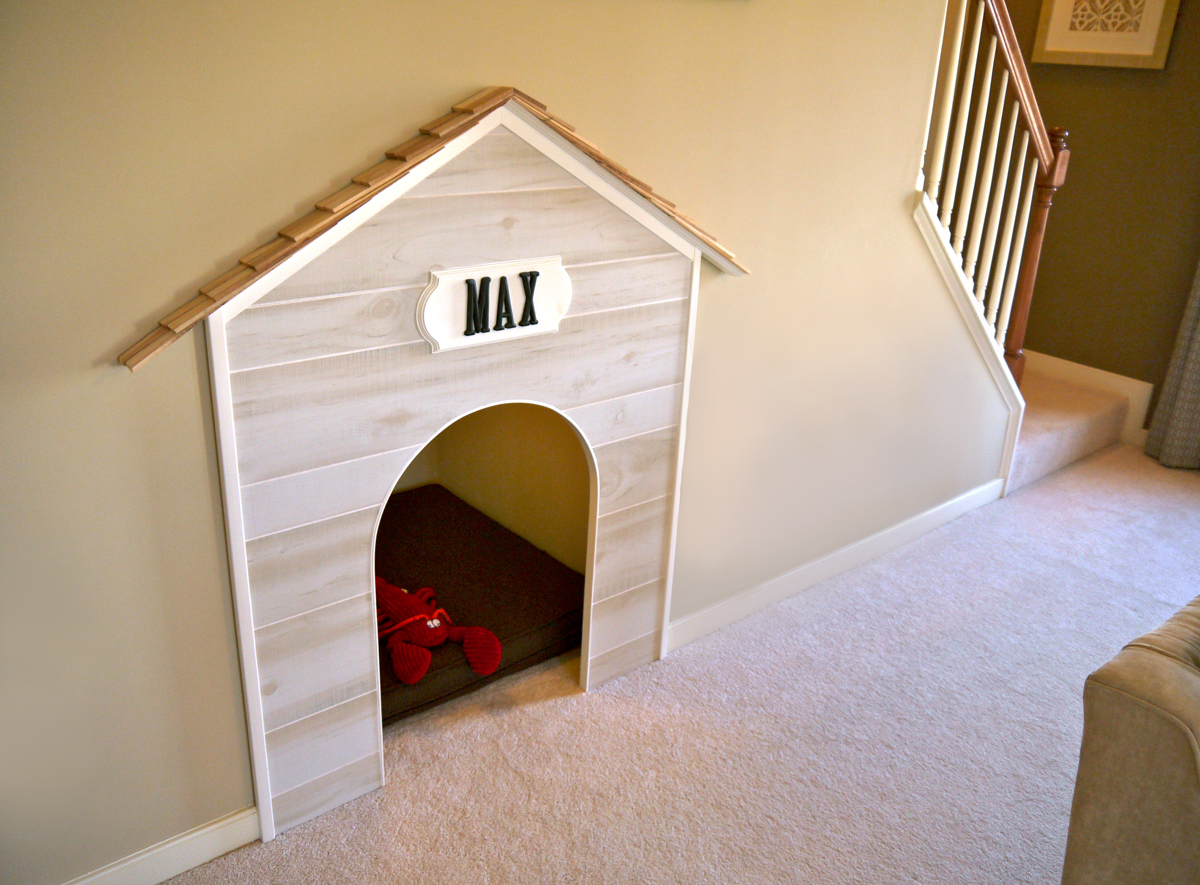 A pet bed in one of the Stylecraft Homes models | Photo courtesy Stylecraft Homes