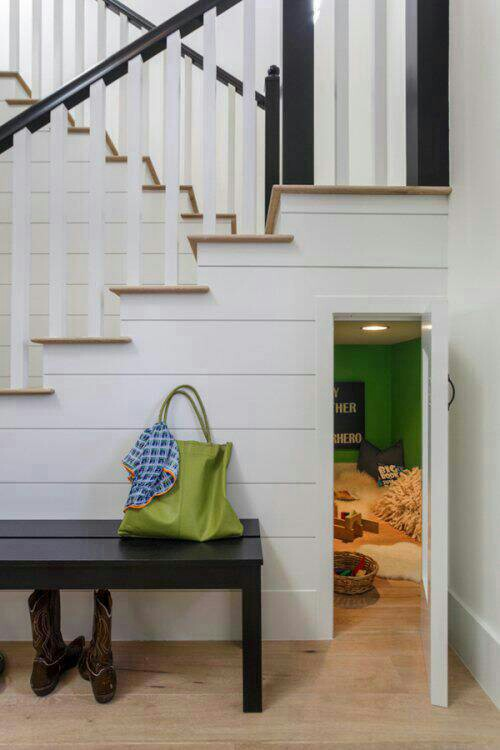 Entrance to the playroom at the Danalda Residence by Von Fitz Design | Photo courtesy Von Fitz Design
