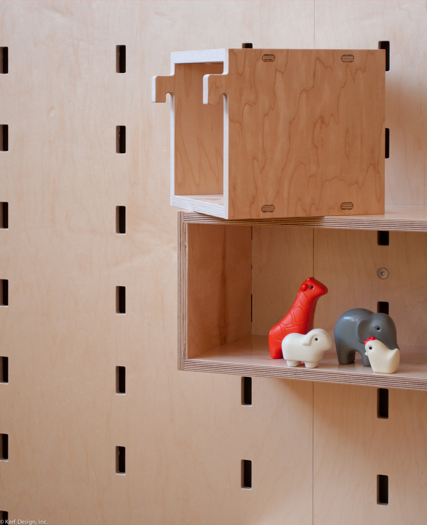 Tight grasping is avoided with solid, chunky fittings | Photo courtesy Kerf Design