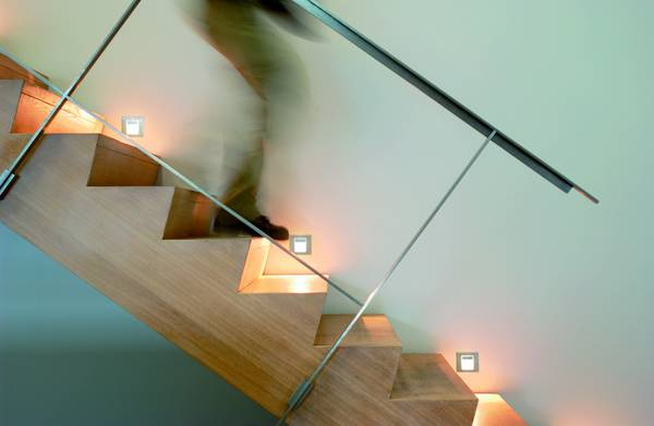 Lighting Solution 2: In-Wall recessed lighting fixtures such as LED pin lamps can be small scale and stylish   Via Licht