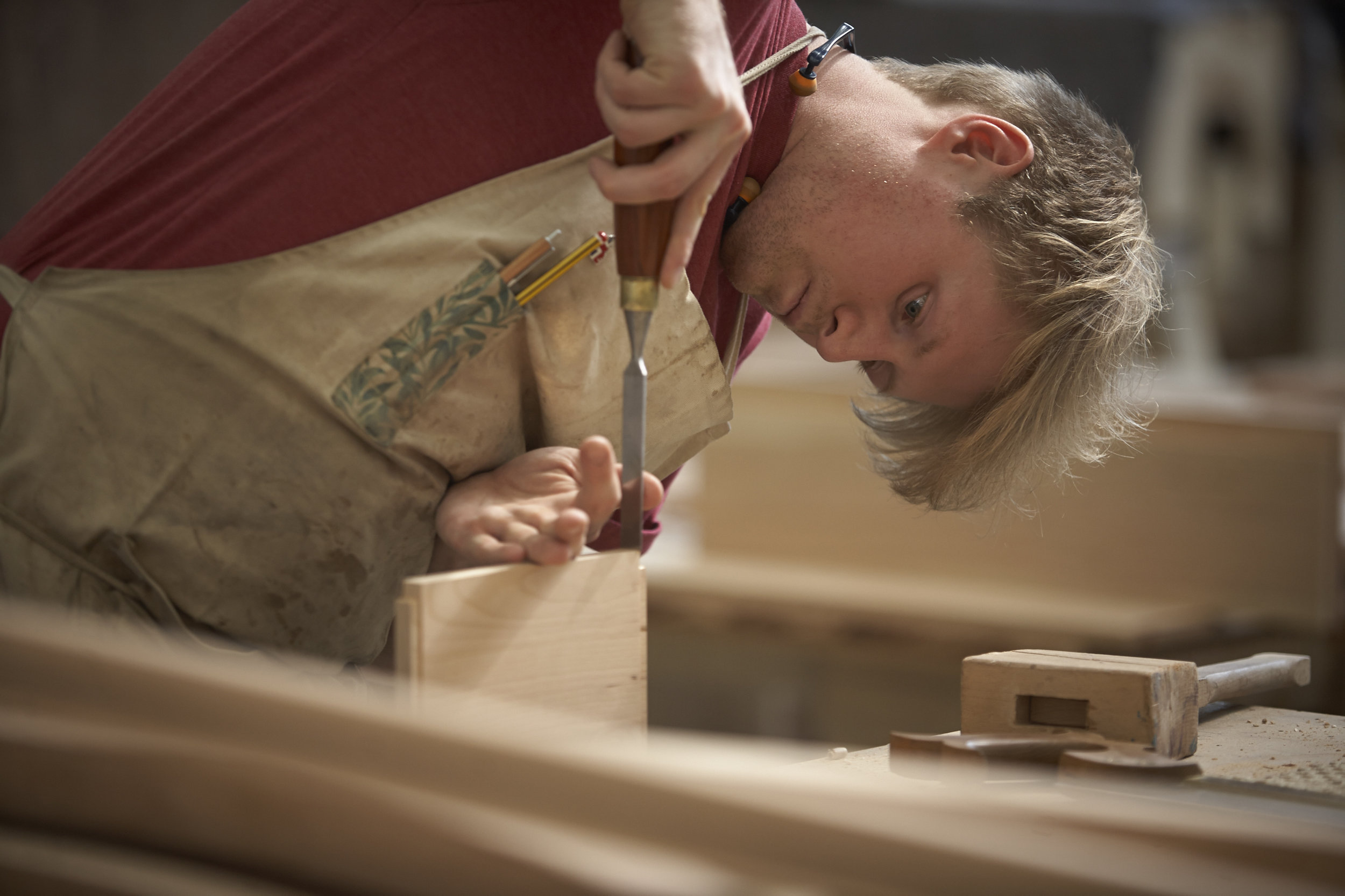 Sebastian Cox box making workshop