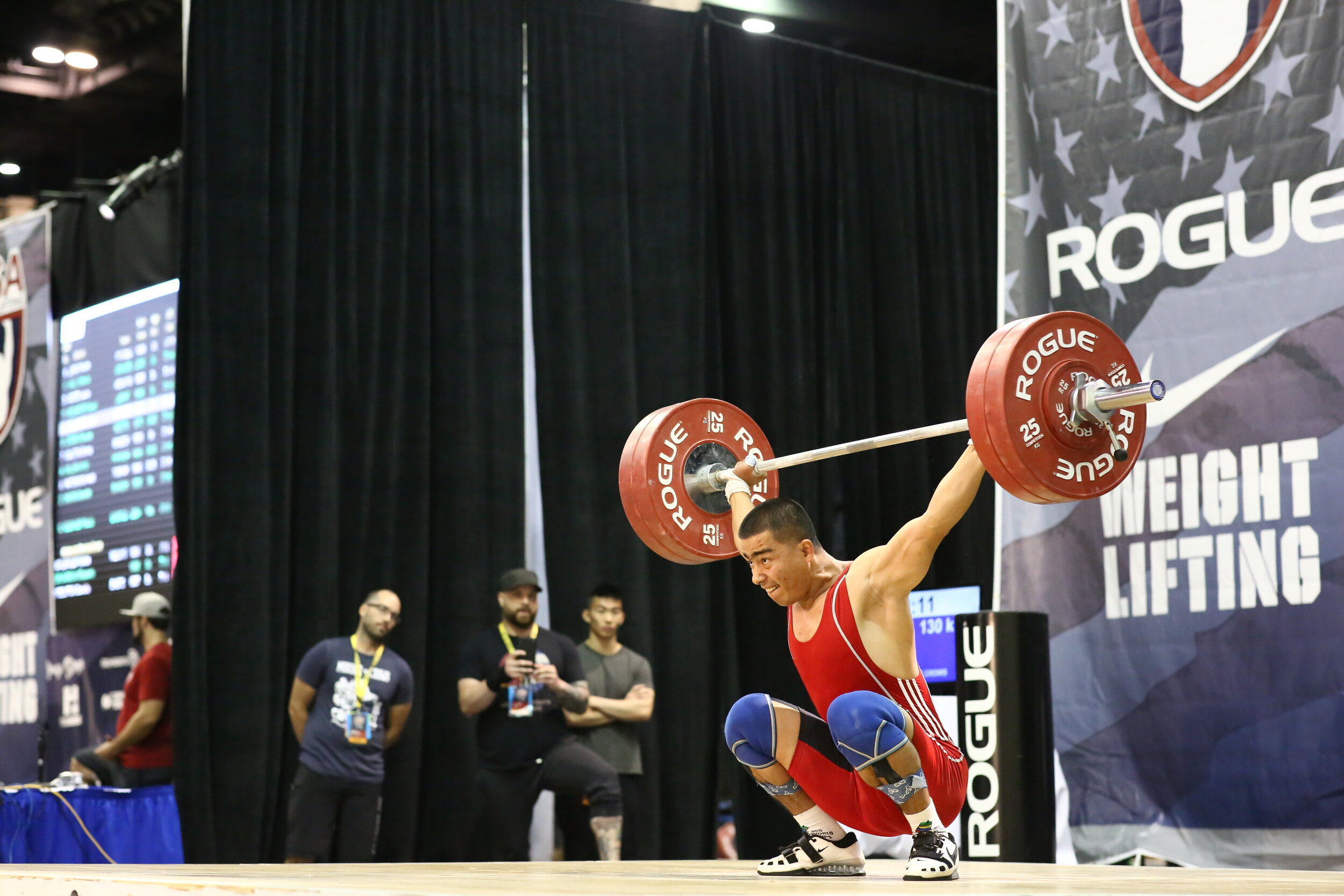 WEIGHTLIFTING - Weightlifting is the only barbell sport contested in the Olympics.