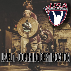 Usa Weightlifting Level 1 Certification Murder Of Crows Barbell