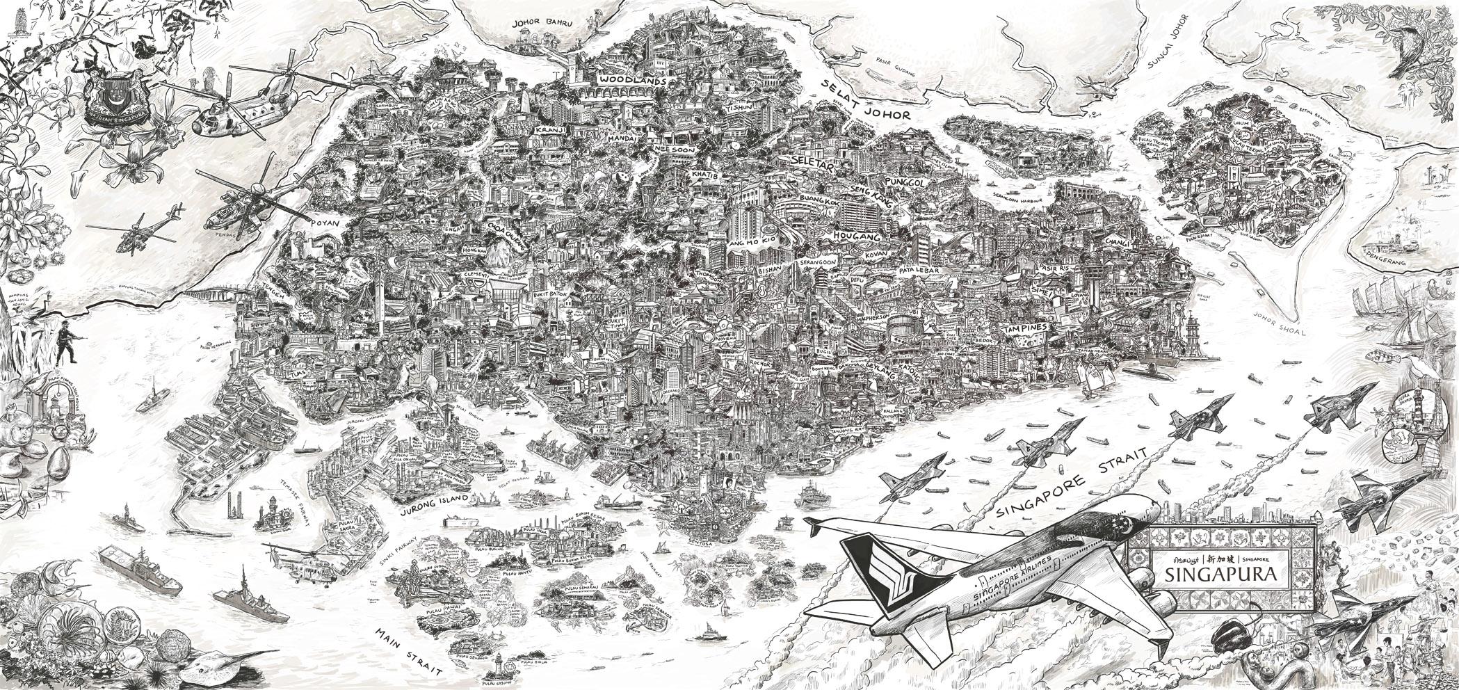Peta Singapura II