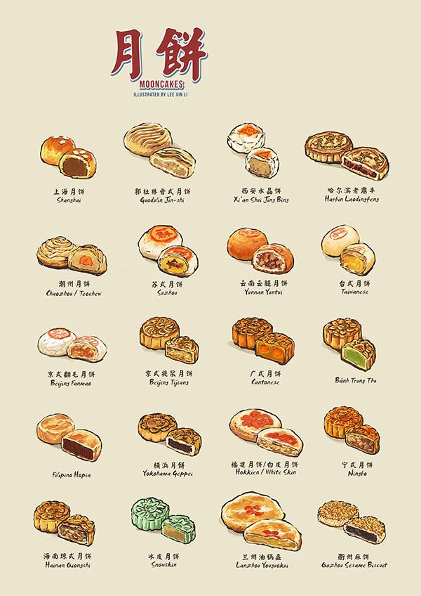 Mooncakes   月餅