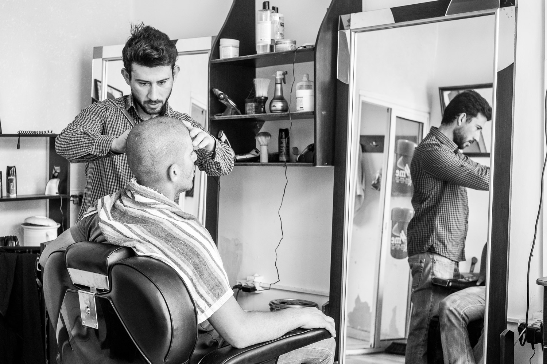 Khader Alhreme, Hairdresser, Bethlehem.
