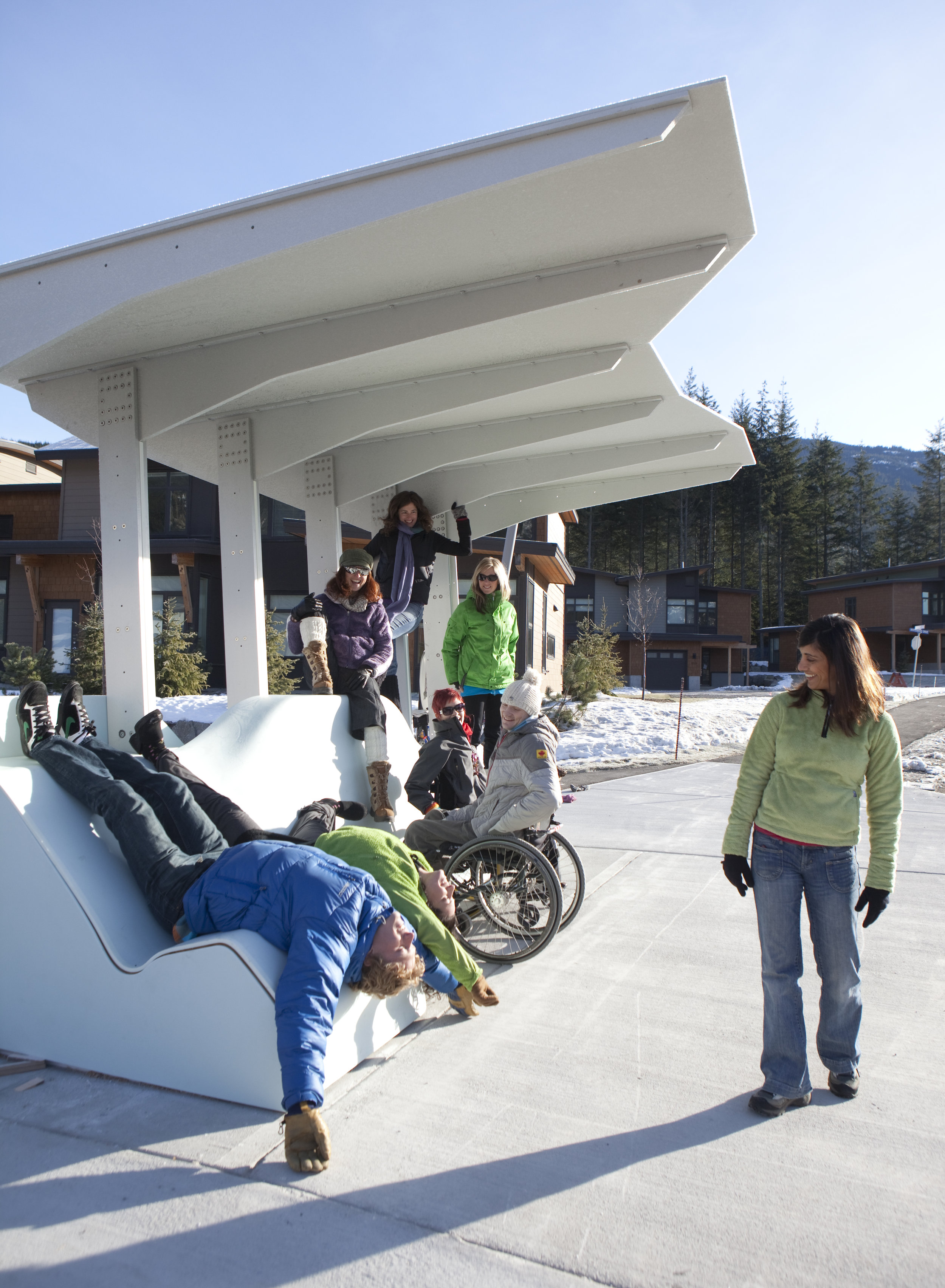 2010 Olympic Bus Shelter