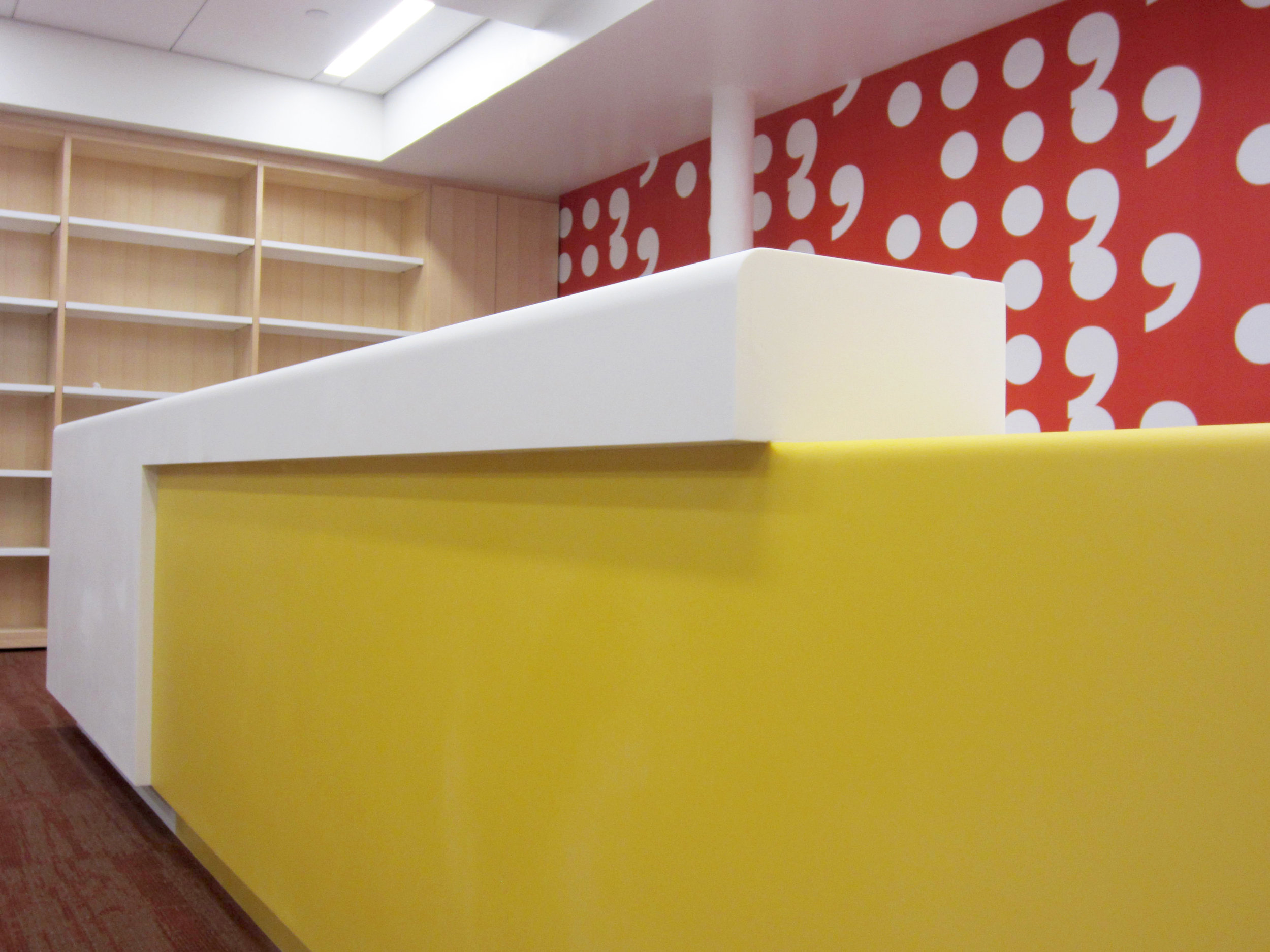 Raman's Jewish School Library