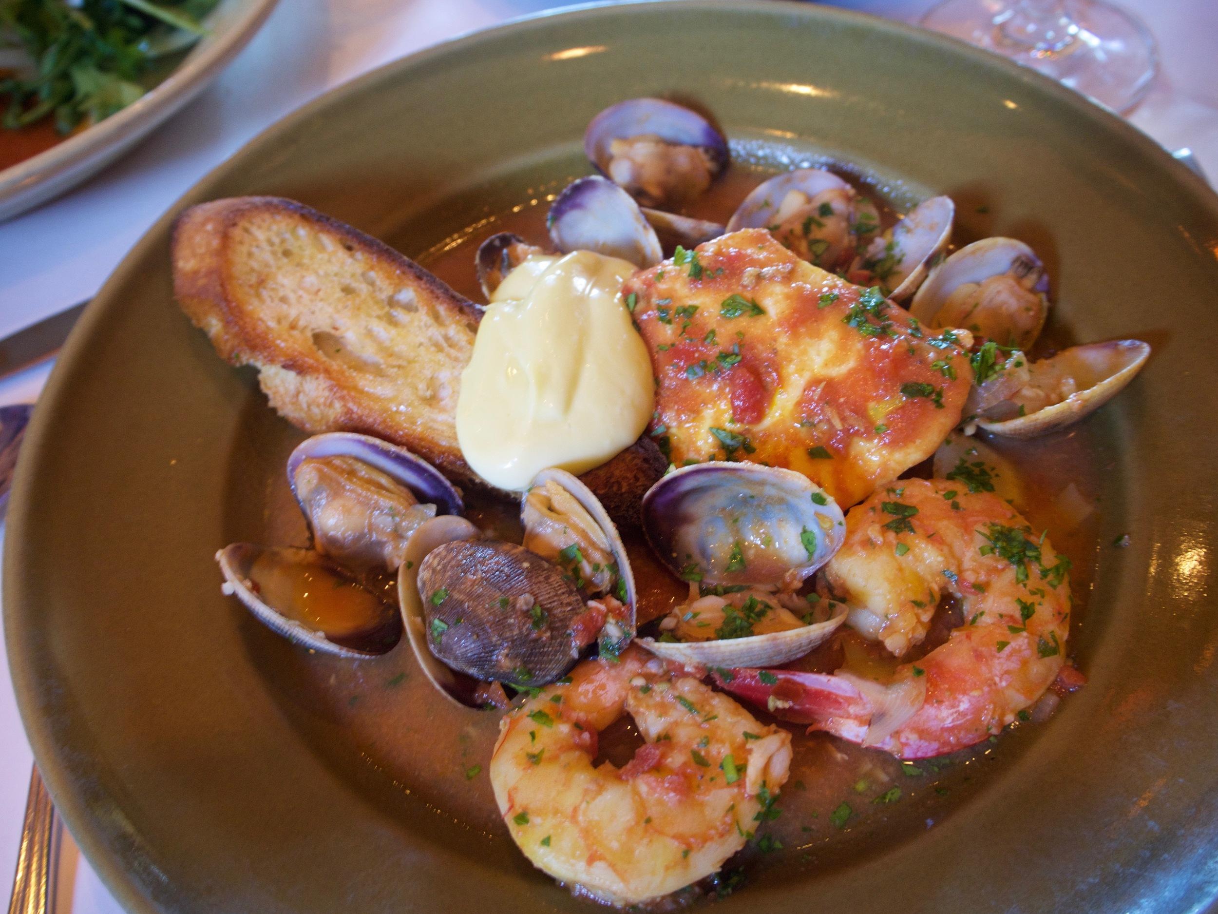 Provençal-style seafood