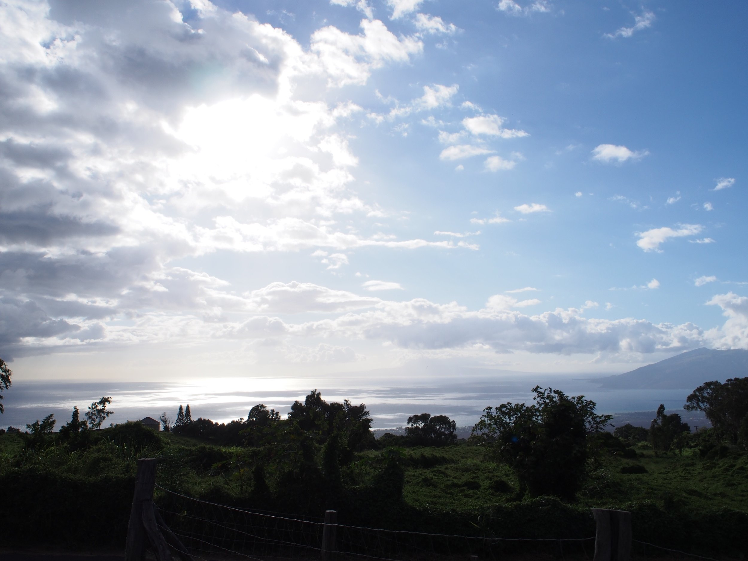 View of Southern Maui
