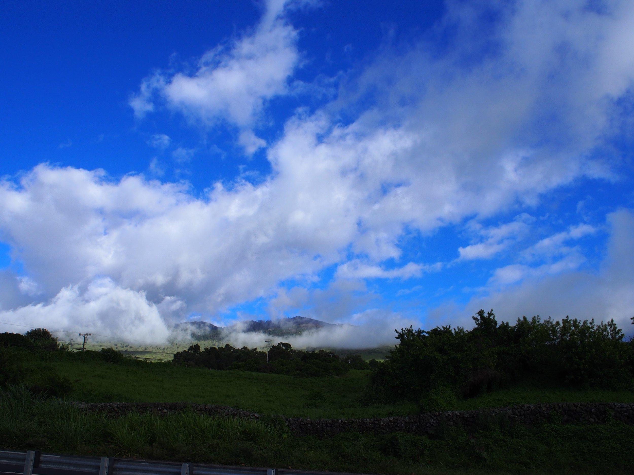 Haleakala above