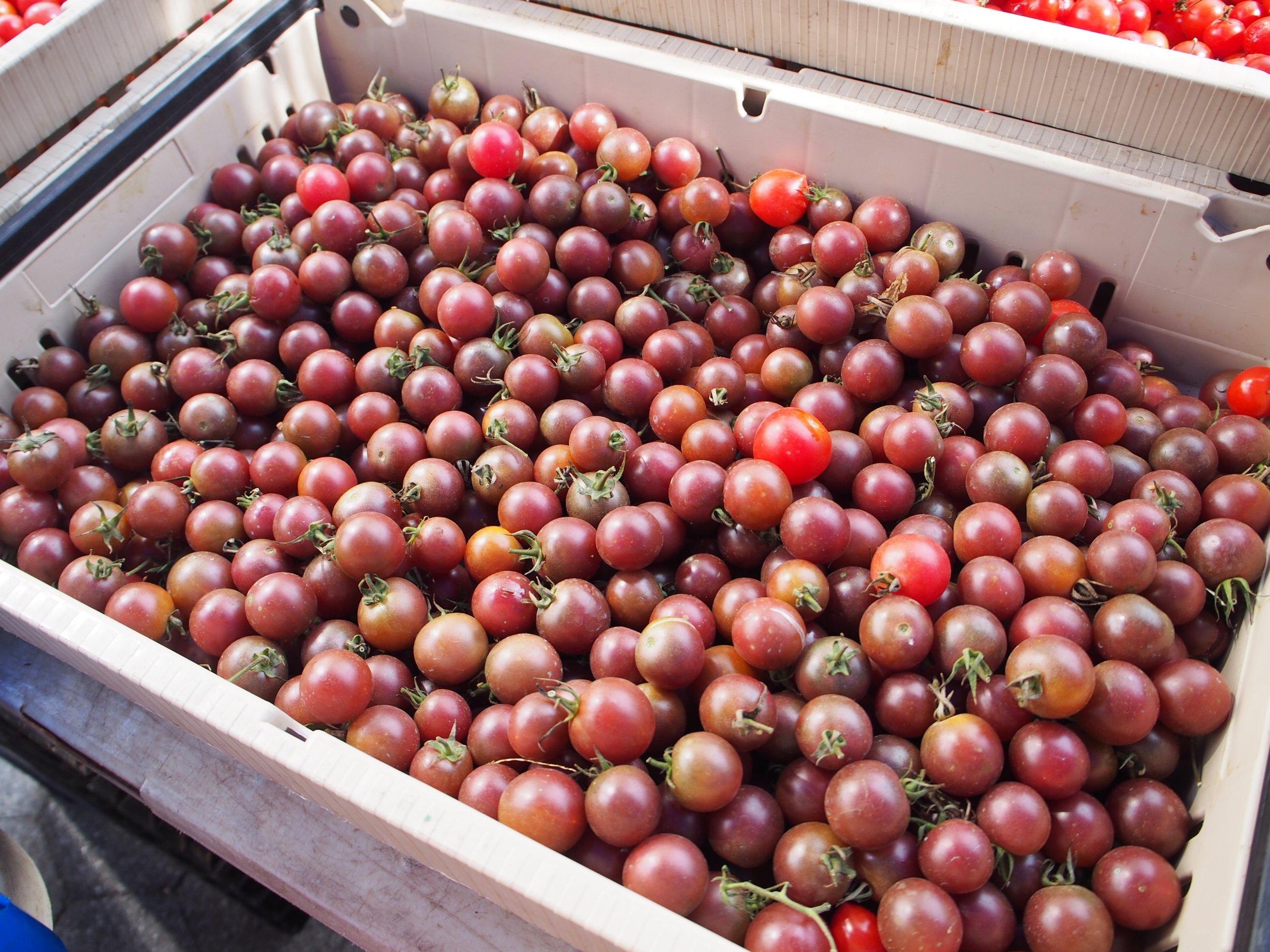 Perfect cherry tomatoes