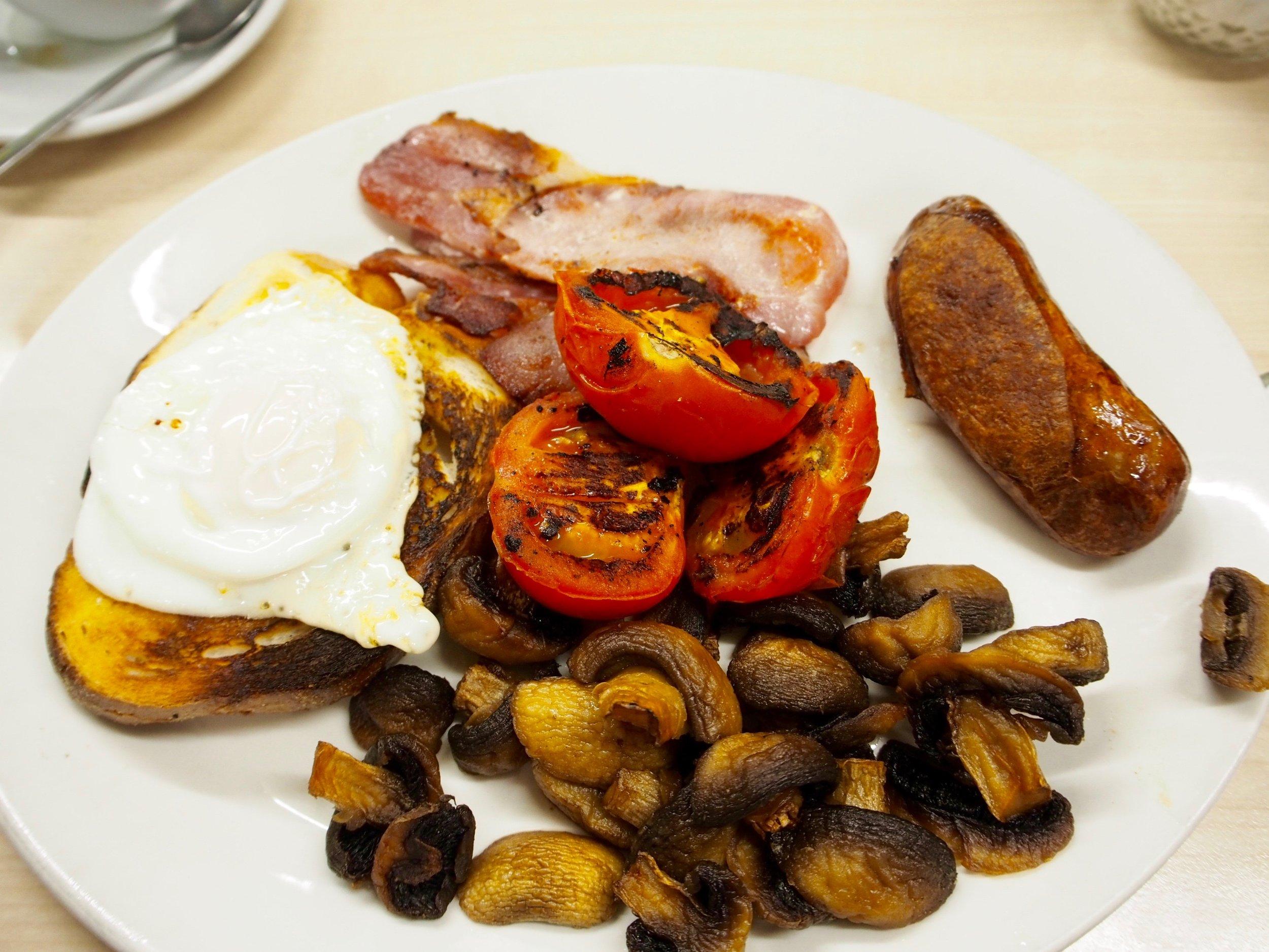 Proper English breakfast