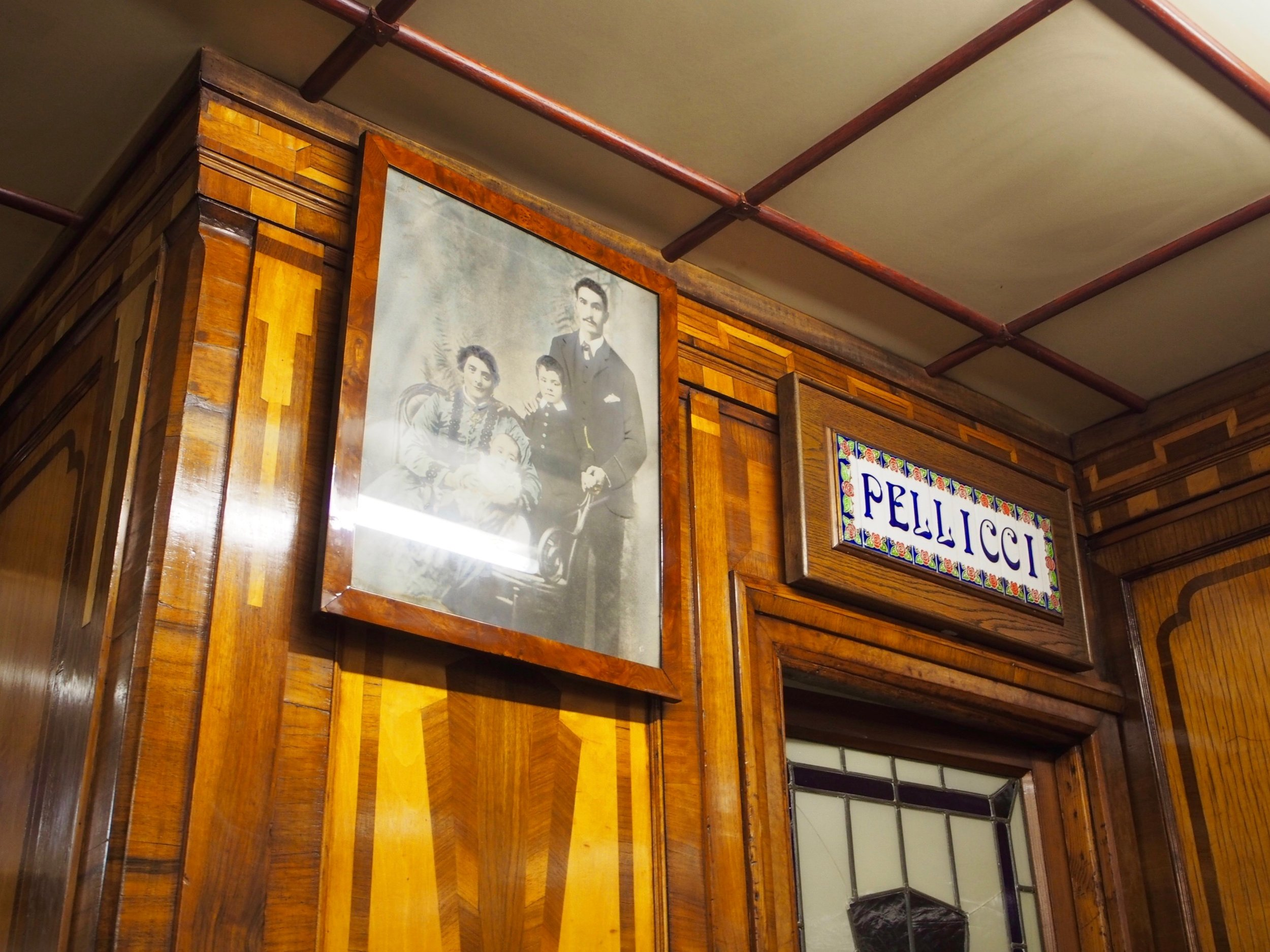 Pellicci's, a must visit in White Chapel