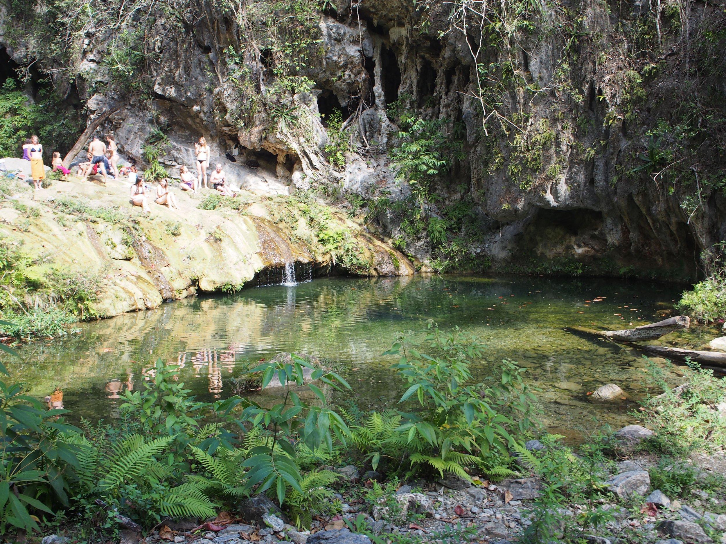 Waterfall outside Trinidad