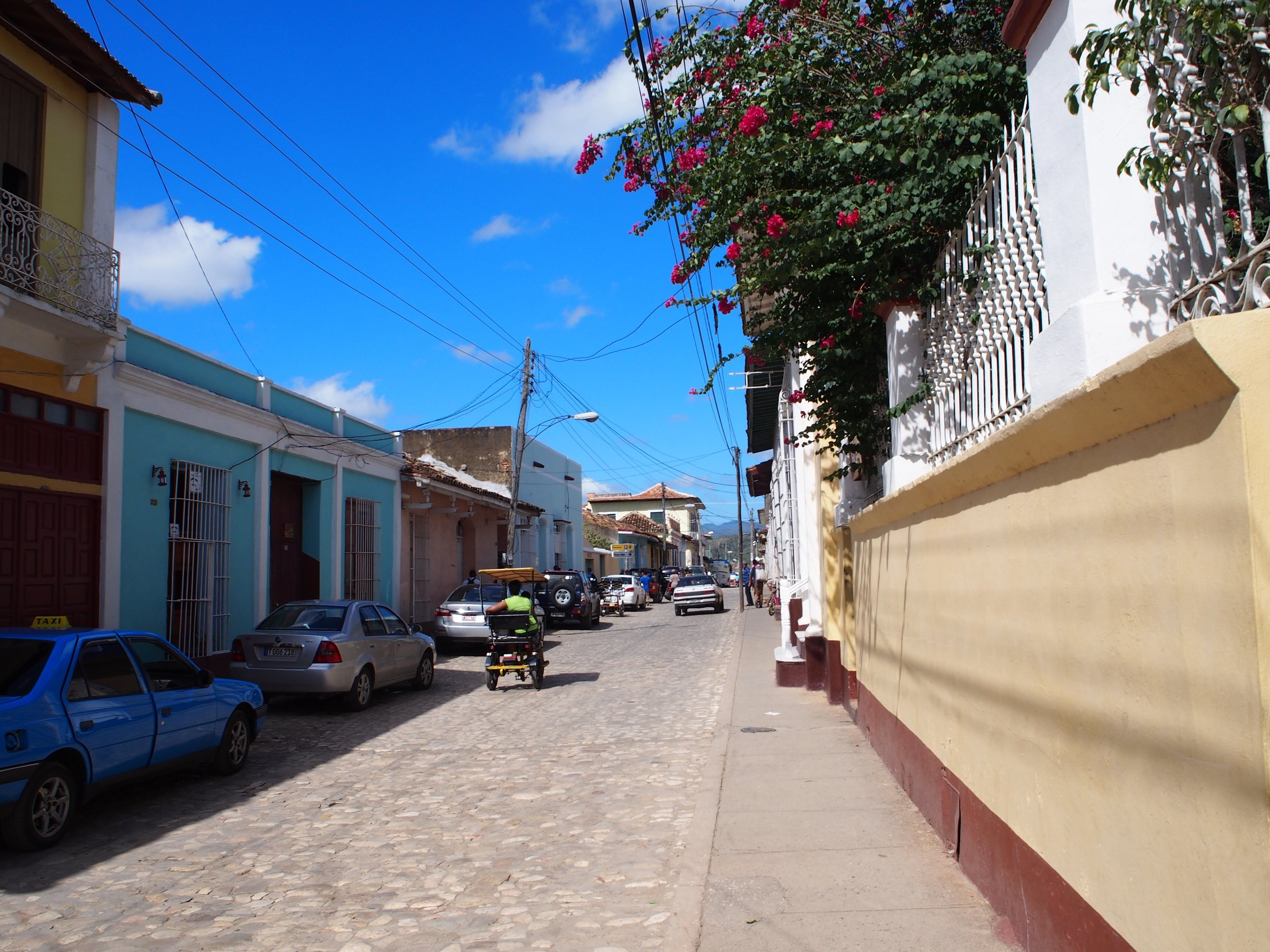 Picturesque streets of Trinidad