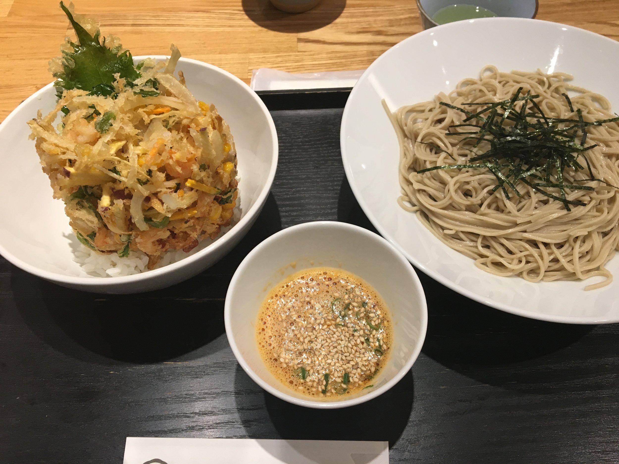 Noodle spot in Kobe