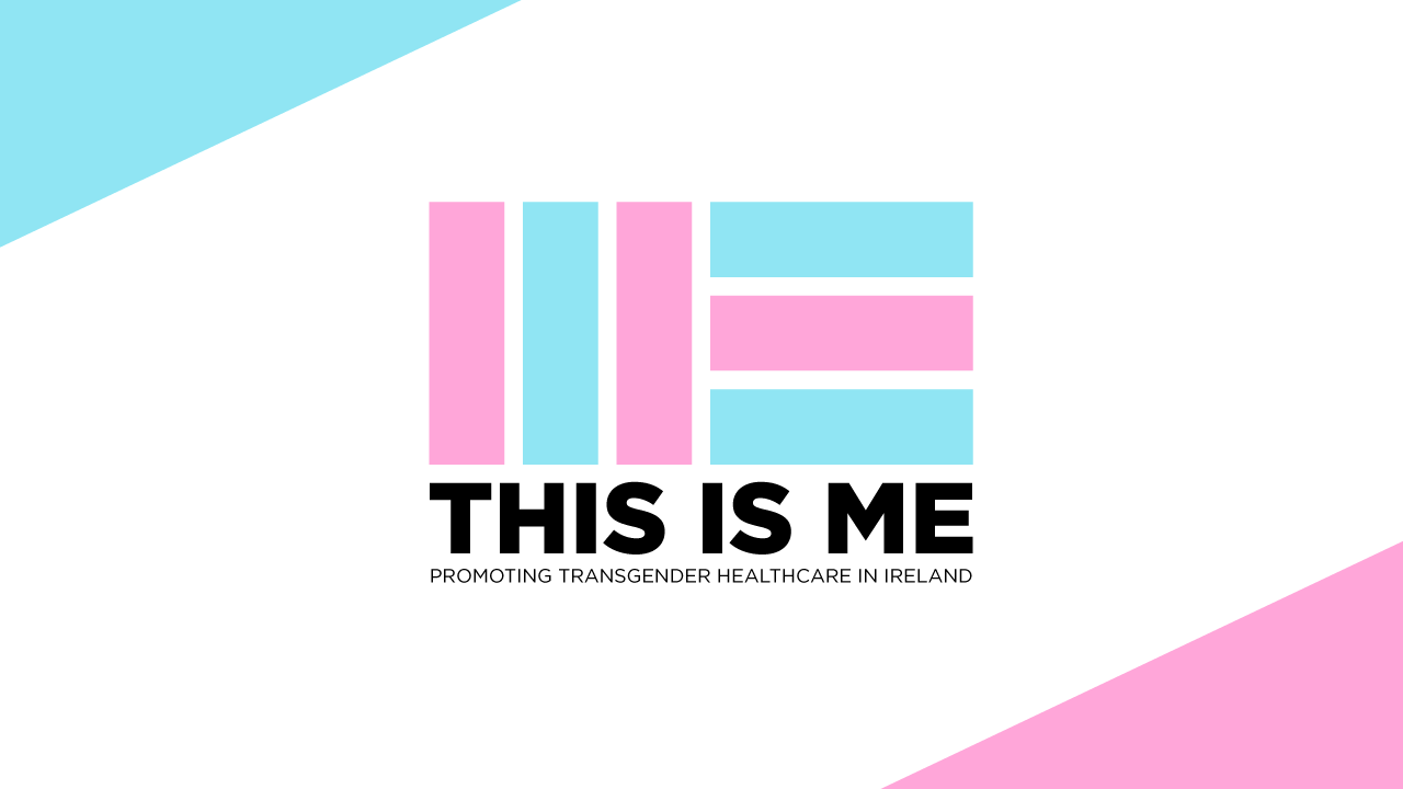 The logo pays homage to the colours and form of the transgender flag, giving it familiar meaning to an informed audience, in a fresh and hopefully remarkable context.