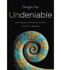 Undeniable         by Douglas Axe   The evidence for design is presented in this text providing some of the latest research in a way the non-scientist can understand.  Consider the evidence presented in this 2016 text and understand more of your design.