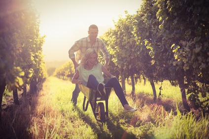 ..........Or just have fun in the vines!