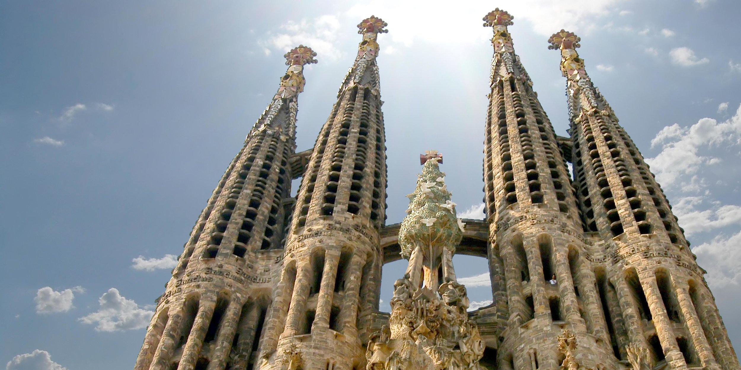 Bel Canto sings at La Sagrada Familia