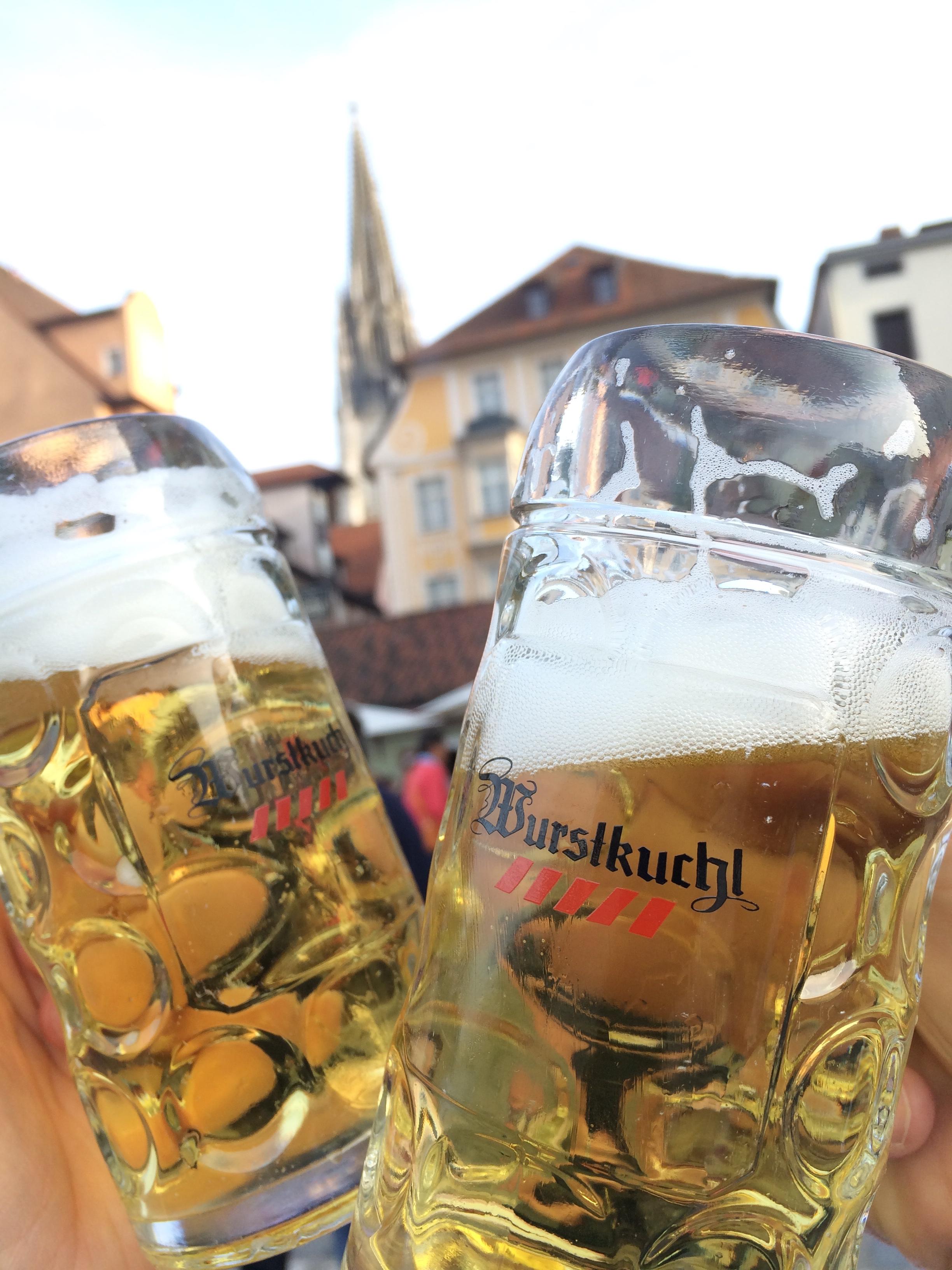 Prost from Regensburg