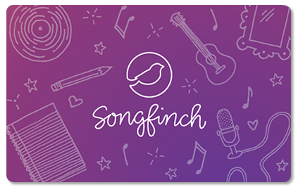 Songfinch Gift Card For One Song