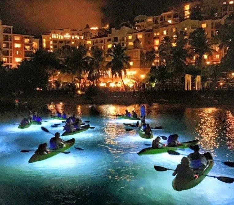 Night Kayakers
