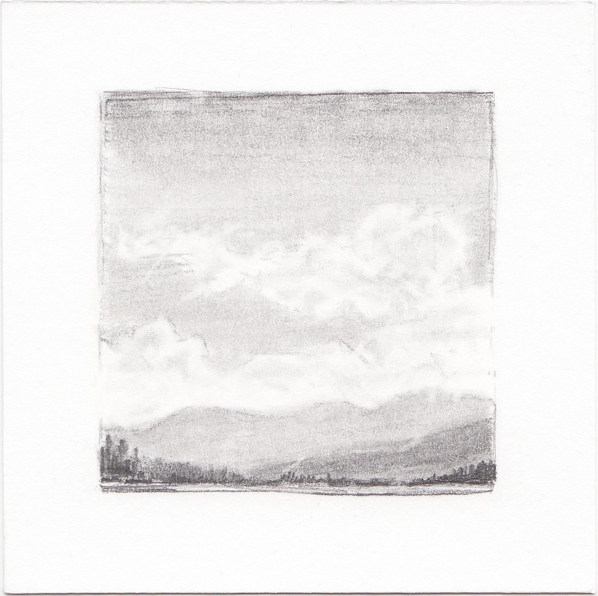 #28 Turquoise Lake, Colorado | 3x3 | graphite