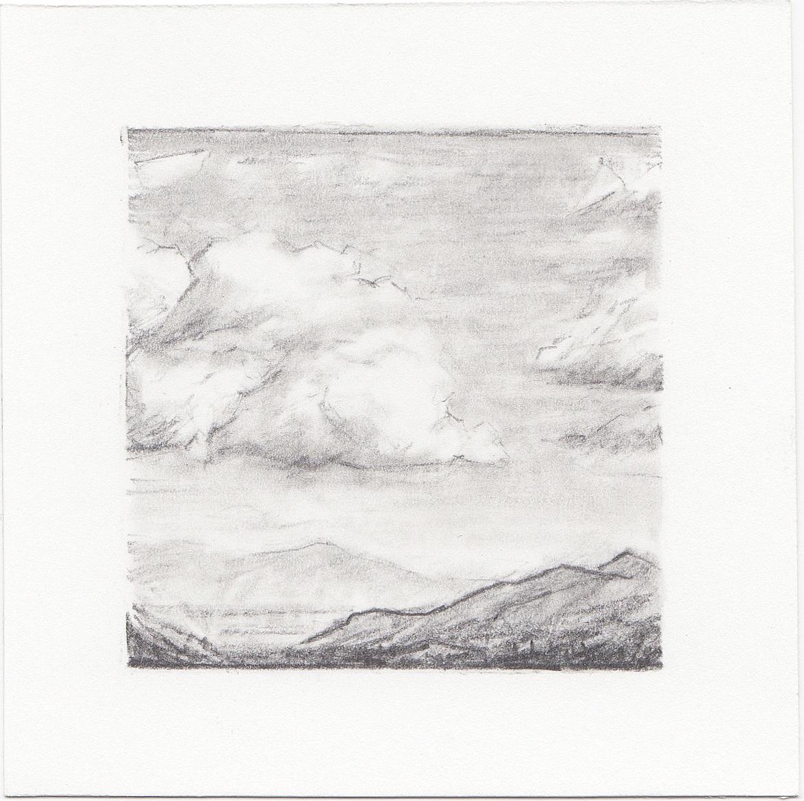 #39 Salt Lake Valley, Utah | 3x3 | graphite