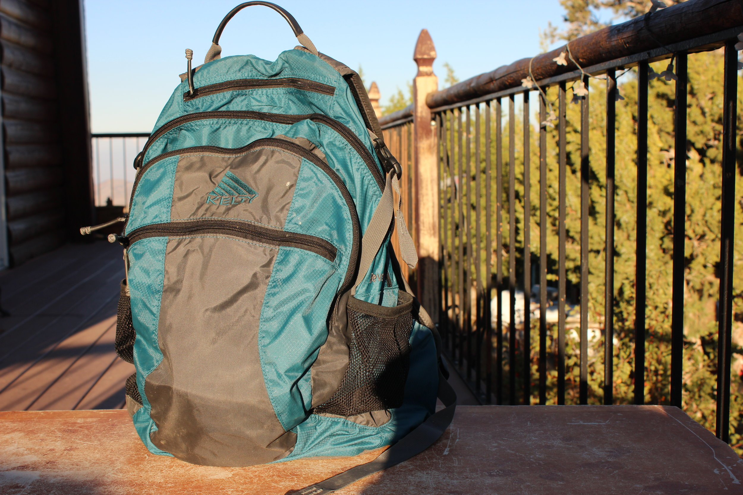 I've actually had this backpack for years. It's been tried and truly tested on some long, good trails, so I think it will do just fine for this. Here is a  similar backpack.  Another option is the  Alice packs  that were discontinued by the military. You can find these on Amazon too!