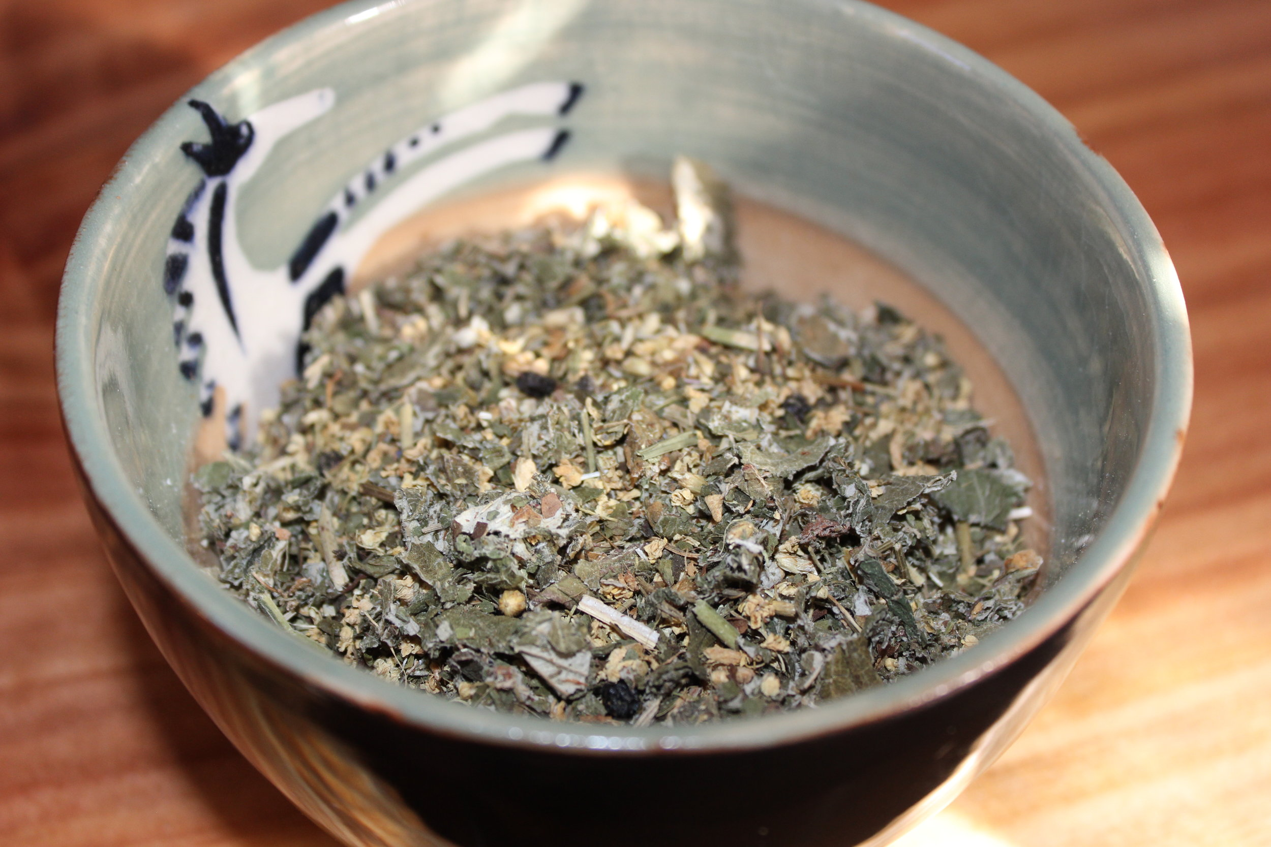 This is Tea for the Sniffles---A great blend to help reduce sinus inflammation and relieve stuffy nose.