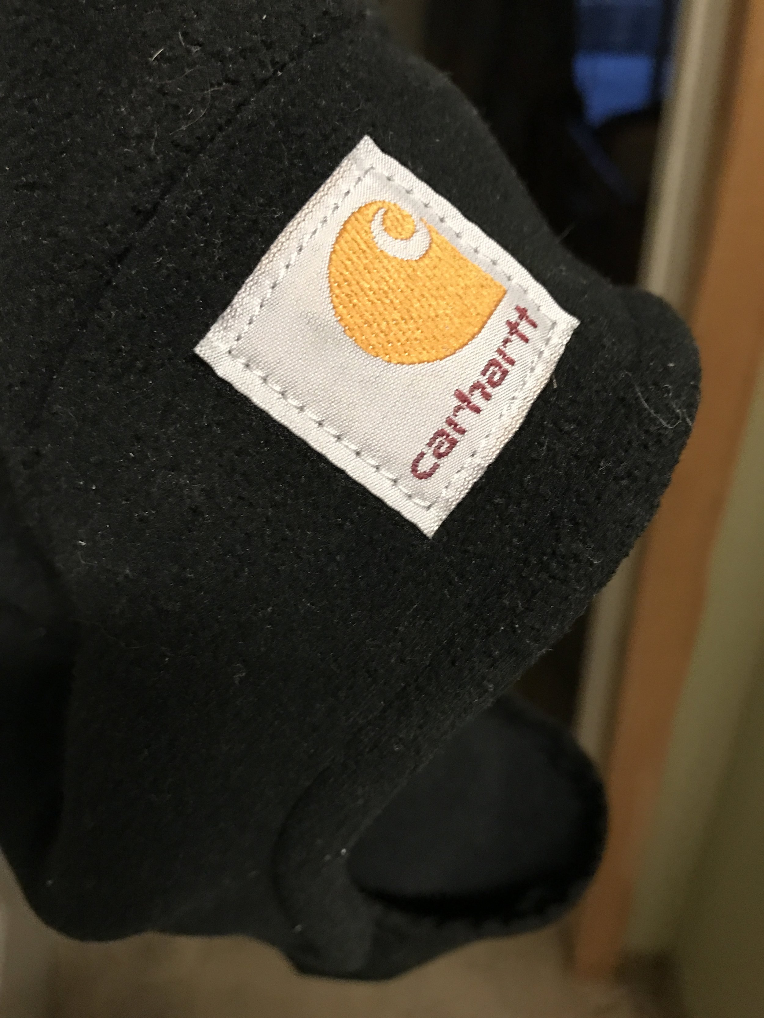 We love Carhartt brand! We each have a  Carhartt beanie . Mr. V.'s is a good knit one, and mine has fleece...which I am rapidly beginning to insist upon for the cold. We actually got ours at CalRanch, but they have them on Amazon too.